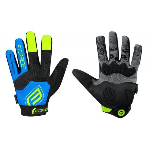 Force γάντια ενηλίκων MTB Autonomy μπλε Δαλαβίκας bikes