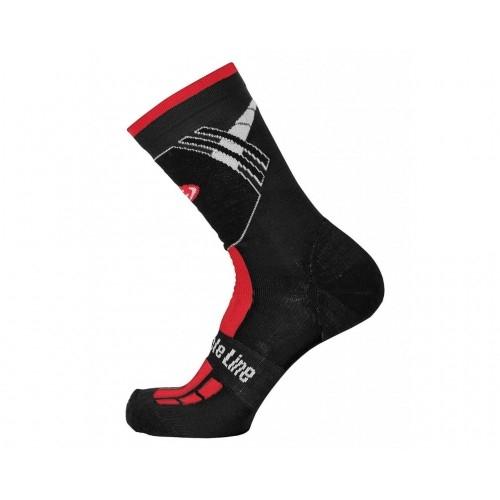 Χειμερινές κάλτσες Bicycle Line Shaun Κόκκινες Δαλαβίκας bikes
