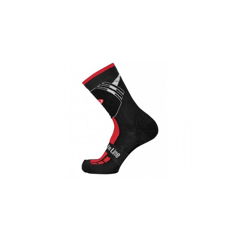 Χειμερινές κάλτσες Bicycle Line Shaun Κόκκινες Dalavikas bikes