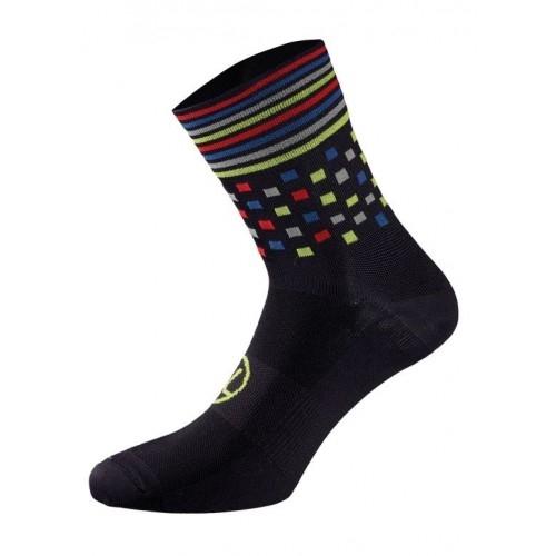 Χειμερινές κάλτσες UTOPIA. Bicycle Line κάλτσες μαύρο/πράσινο. Δαλαβίκας bikes