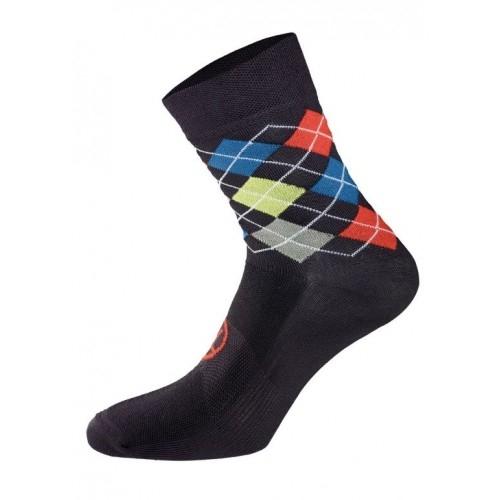 Χειμερινές κάλτσες UTOPIA. Bicycle Line κάλτσες μαύρο/κόκκινο. Δαλαβίκας bikes