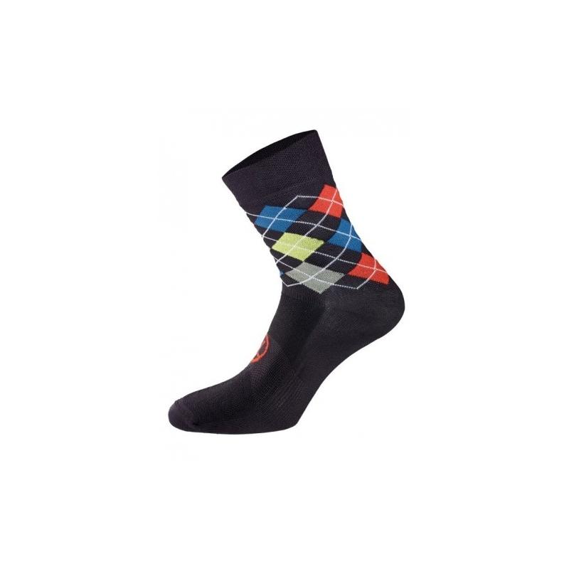 Χειμερινές κάλτσες UTOPIA. Bicycle Line κάλτσες μαύρο/κόκκινο. Dalavikas bikes