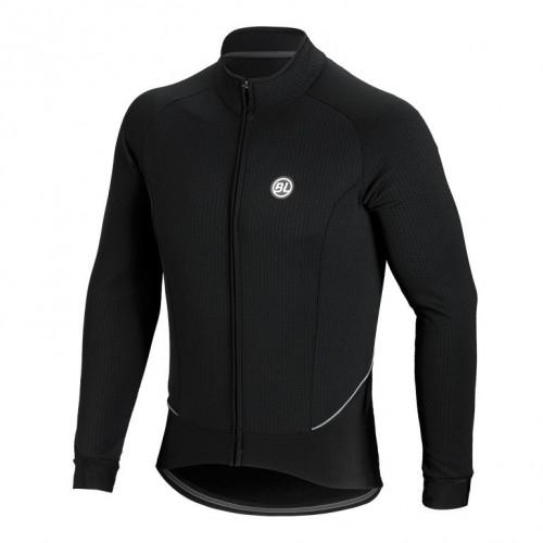 Μπλούζα με μακρύ μανίκι Bicycle Line. FIANDRE μαύρη Δαλαβίκας bikes
