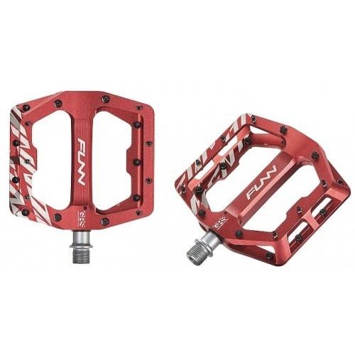 Πετάλια FUNN FUNNDAMENTAL GRS (Grease Renew System) - Anodized Red Δαλαβίκας bikes