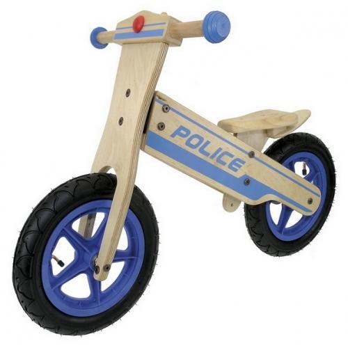 Police Ξύλινο παιδικό ποδήλατο ισορροπίας