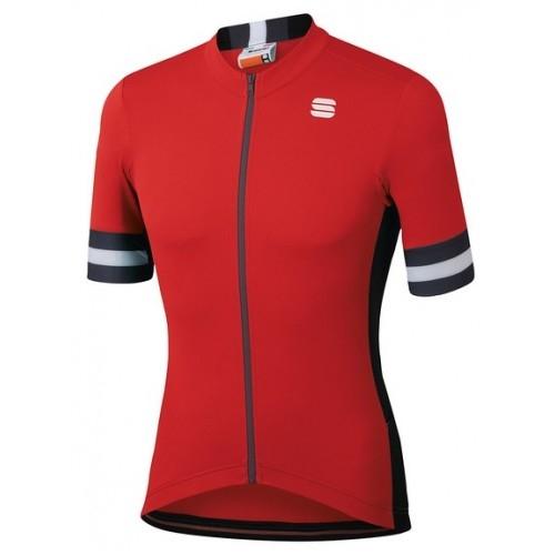 Μπλούζα με κοντό μανίκι Sportful KITE Jersey S/S - red Δαλαβίκας bikes