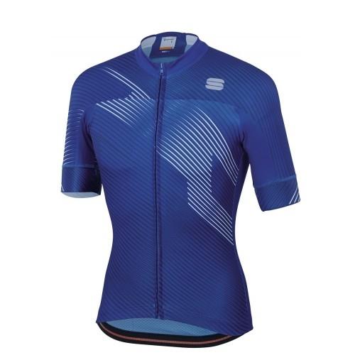 Μπλούζα με κοντό μανίκι Sportful BFT 2.0 Faster Jersey S/S - Blue Δαλαβίκας bikes