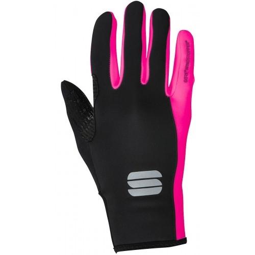 Γάντια Sportful Windstopper ESSENTIAL 2 - Black/ pink Δαλαβίκας bikes