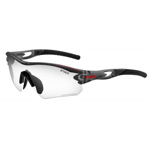 """Γυαλιά Ποδηλασίας R2 """"PROOF"""" - Μαύρο Matt με φωτοχρωμικους φακούς Δαλαβίκας bikes"""