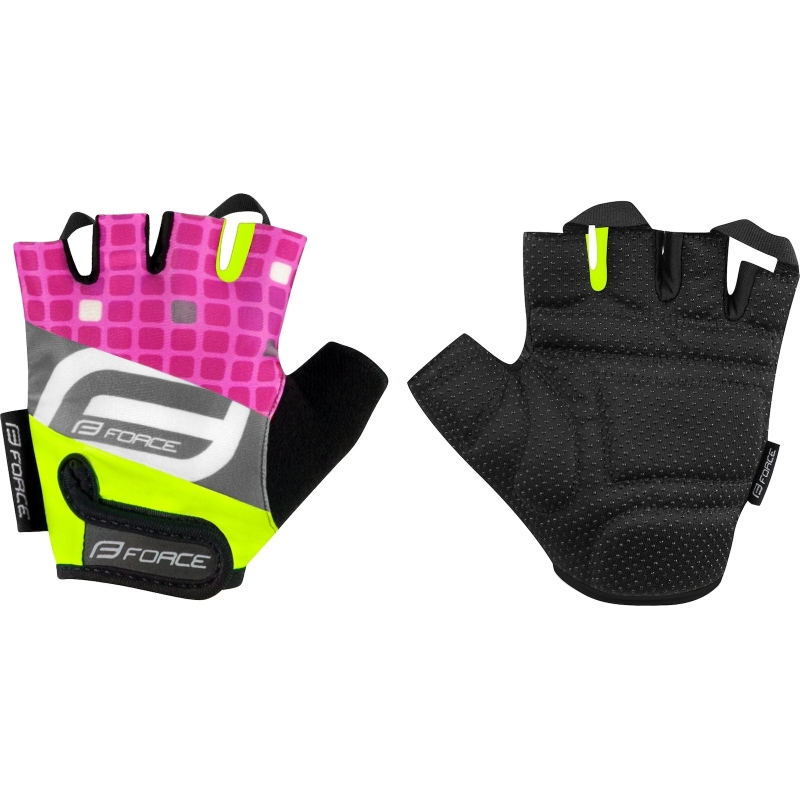Force παιδικά γάντια Square ροζ Dalavikas bikes