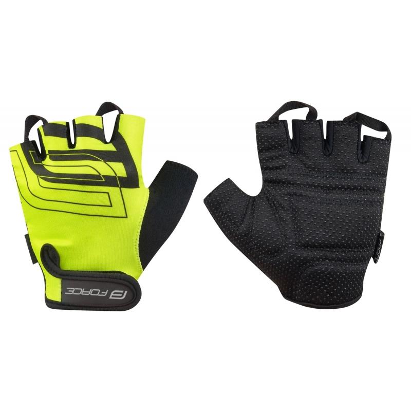 Force γάντια Junior & ενηλίκων Sport κίτρινο Fluo Dalavikas bikes