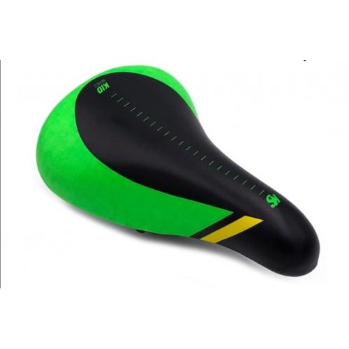 Σέλα Cyclo παιδική BMX 16'-20' - Rocky μαύρη πράσινη