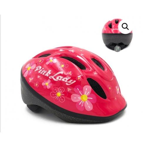 Παιδικό κράνος Cyclo pink lady 048 με flash