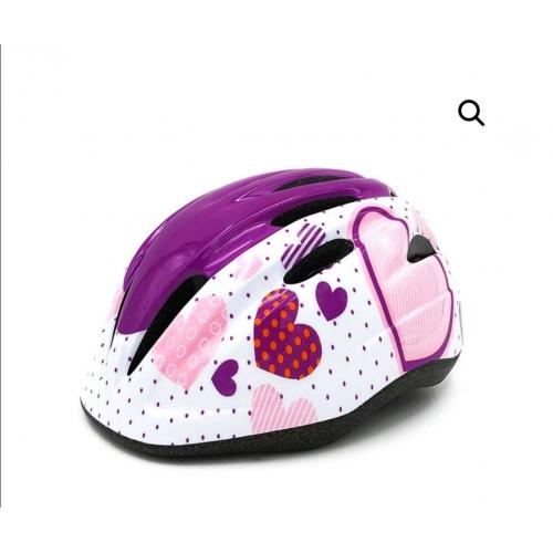 Παιδικό κράνος Cyclo HB6-3 purple white
