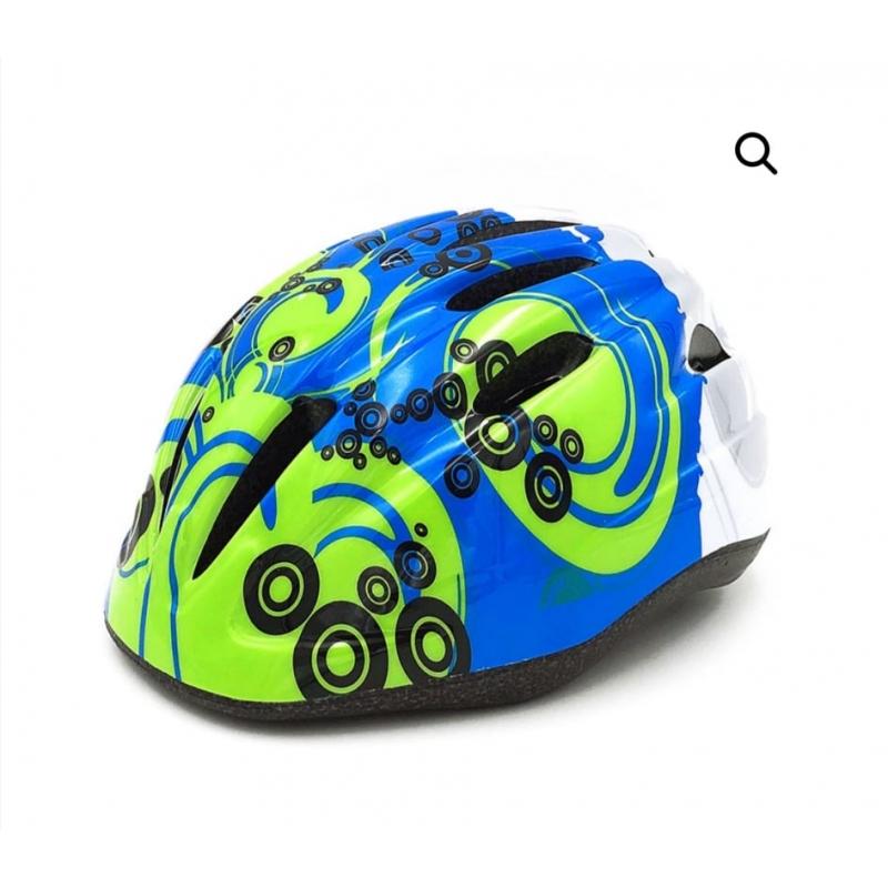 Παιδικό κράνος Cyclo HB6-3 blue green Dalavikas bikes