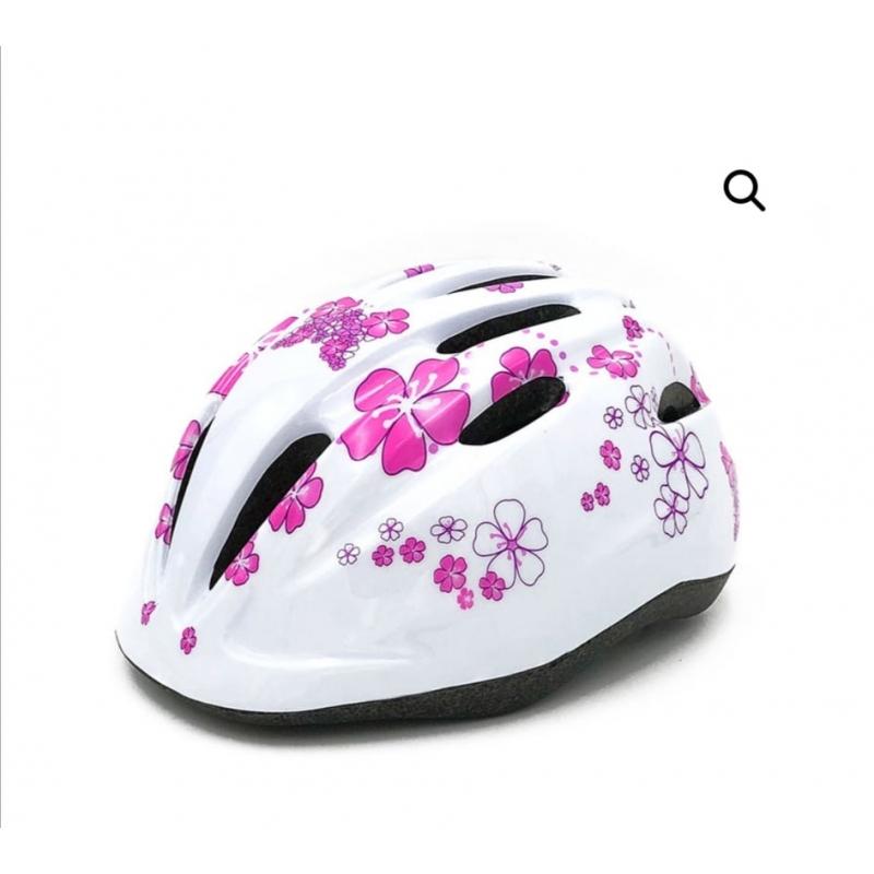 Παιδικό κράνος Cyclo HB6-3 white pink Dalavikas bikes