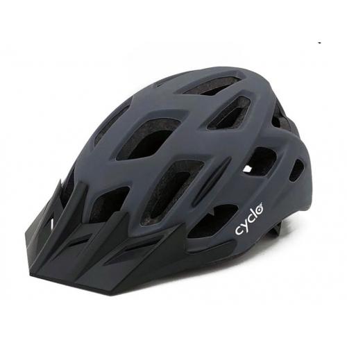 Κράνος ενηλίκων Cyclo Hb3-2 Matt Grey Δαλαβίκας bikes