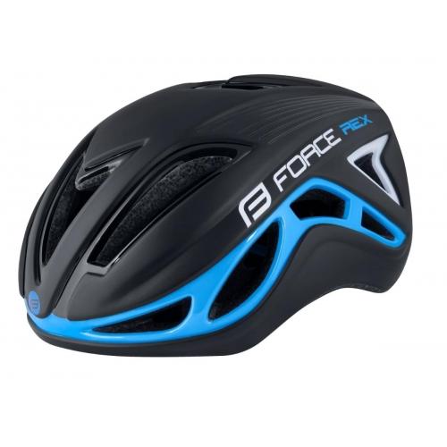 Force Flex Μαύρο Μπλε ποδηλατικό κράνος ενηλίκων Δαλαβίκας bikes