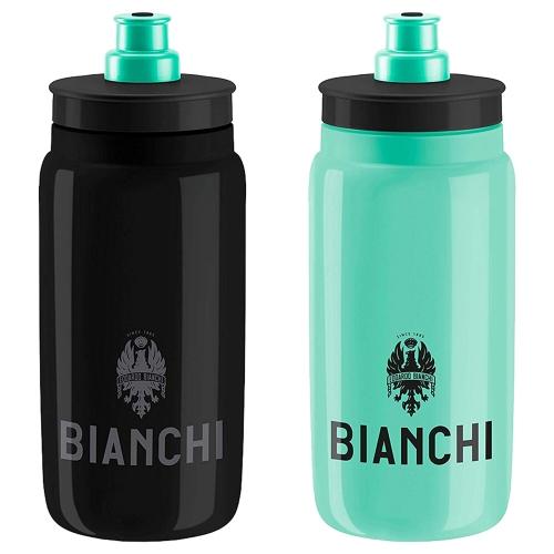 Bianchi fly elite logo παγούρι ποδηλάτου black 550ml Δαλαβίκας bikes