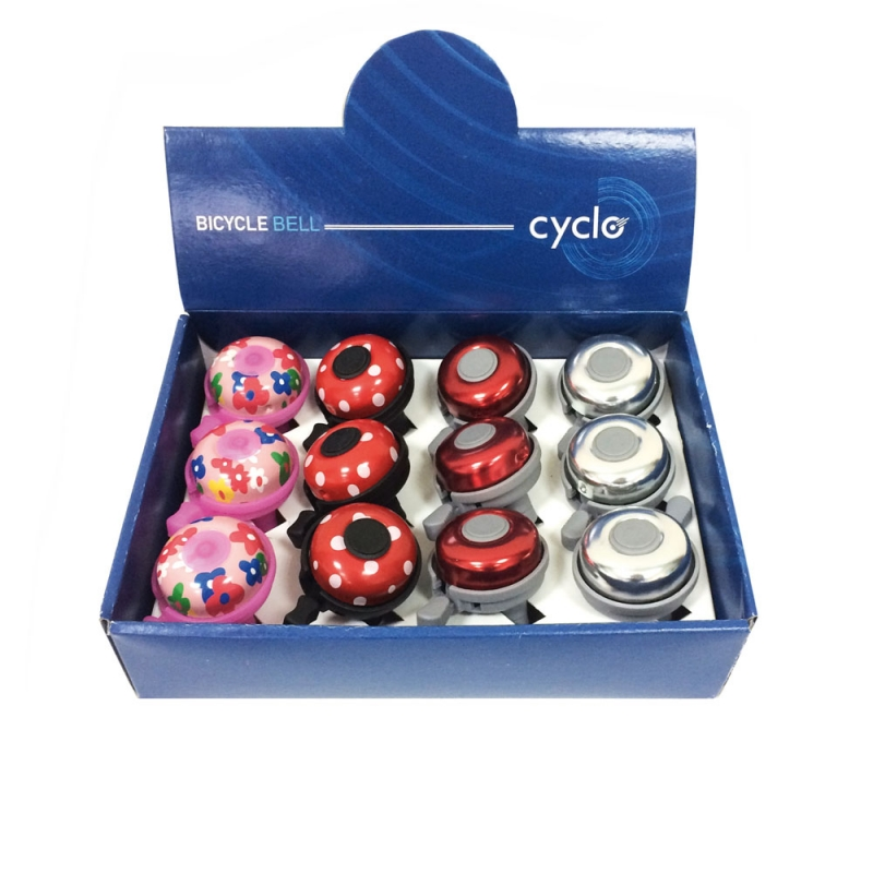 Κουδούνια Cyclo 031A σε τρία χρώματα. Dalavikas bikes