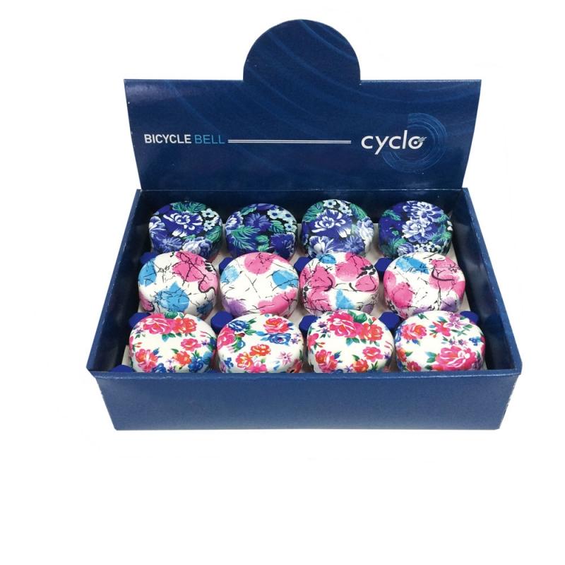 Κουδούνια Cyclo 056S σε τρία σχέδια Dalavikas bikes