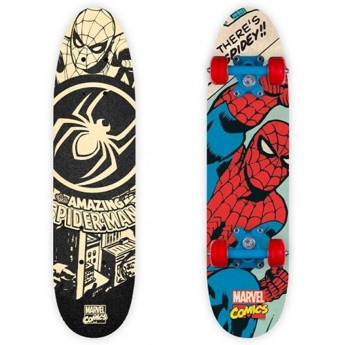 Παιδικό Skateboard- πατίνι ξύλινο Spiderman Δαλαβίκας bikes