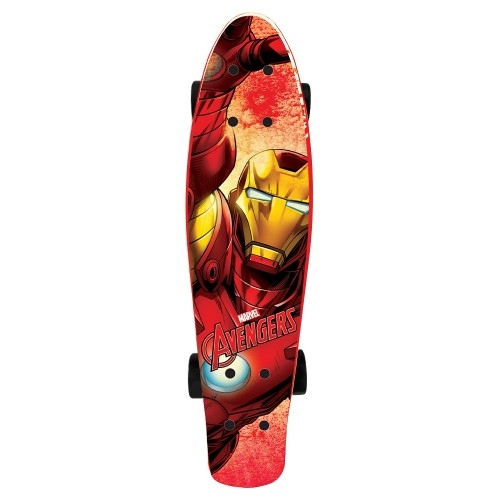 Παιδικό Skateboard-πατίνι (Pennyboard) Ironman πλαστικό Δαλαβίκας bikes