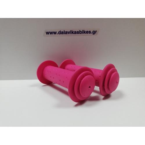 Παιδικές χειρολαβές Cyclo BMX- Roc 16'-18'-20' ροζ Δαλαβίκας bikes