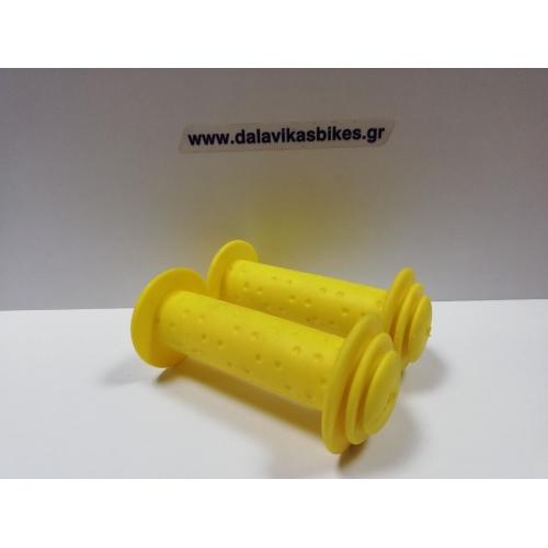 Παιδικές χειρολαβές Cyclo BMX- Roc 16'-18'-20' κίτρινο Δαλαβίκας bikes