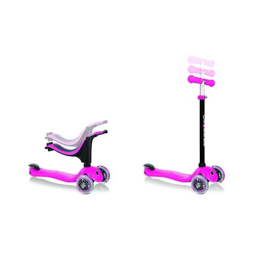 Globber Scooter Go-Up Sporty Pink παιδικό Πατίνι- Scooter Δαλαβίκας bikes