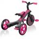 Globber Trike Explorer 4 in1- Fuchsia Pink Τρίκυκλο ποδήλατο bebe & ισορροπίας
