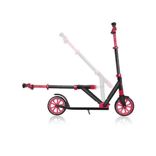Globber NL 205 Black-Red Πατίνι- Scooter εφηβικό μέχρι 100 kg