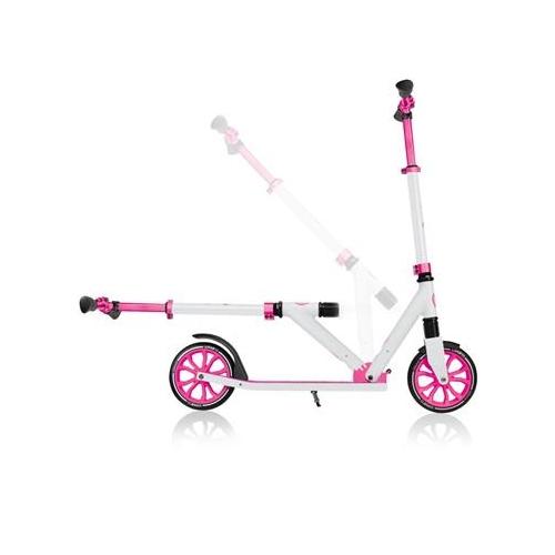 Globber NL 205 White-PinkΠατίνι- Scooter εφηβικό μέχρι 100 kg