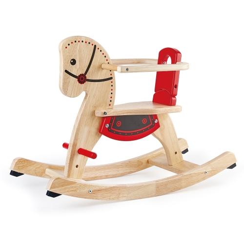Pin Toys Παιδικό-Bebe Ξύλινο Αλογάκι Δαλαβίκας bikes