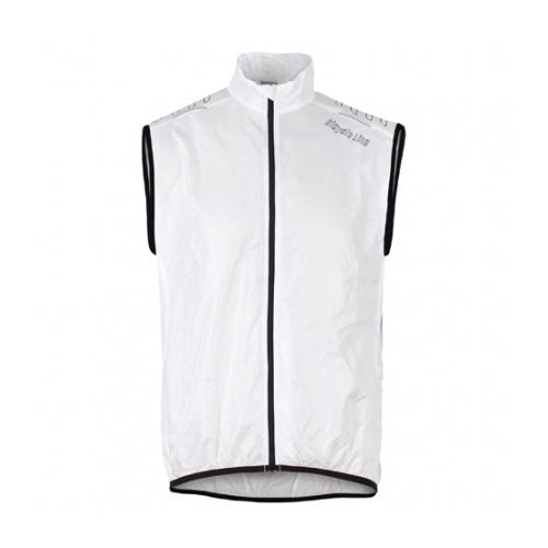 Bicycle Line Denver Windproof Vest Easy Pack White αντιανεμικό αμάνικο μπουφάν