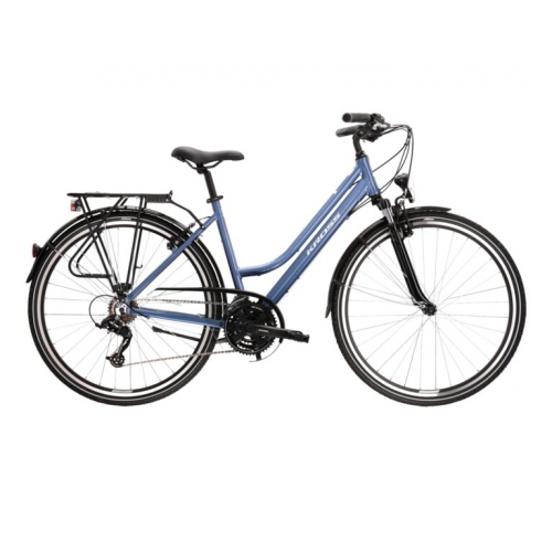 Kross Trans 2 28'' blue matt Ποδήλατο trekking -city lady. Δαλαβίκας bikes