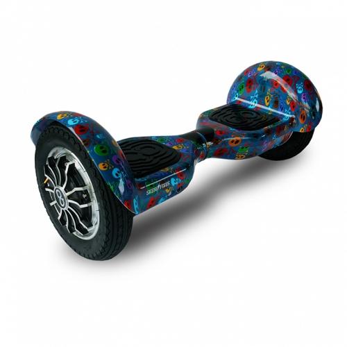 Hoverboard Skateflash K10 Skull Bluetooth Ηλεκτρικό Πατίνι-Scooter