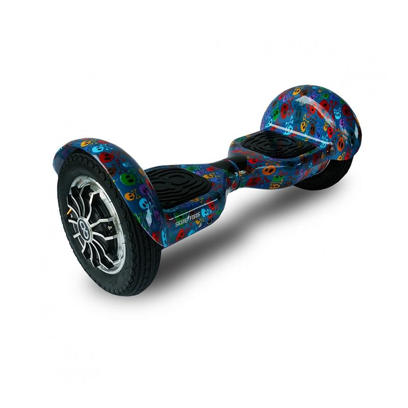 Hoverboard Skateflash K10 Skull Bluetooth Ηλεκτρικό Πατίνι Dalavikas bikes