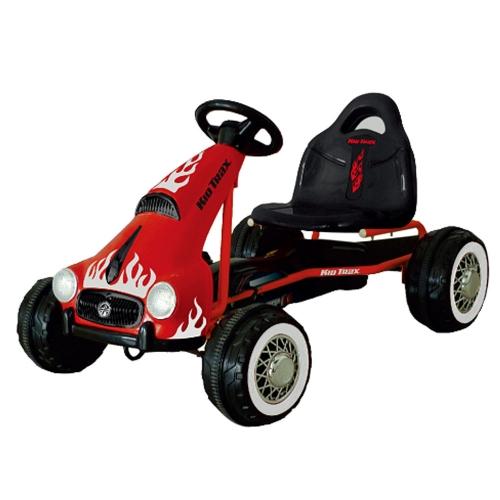 Παιδικό Ποδοκίνητο Τετράτροχο Αυτοκίνητο 'Κόκκινο' Δαλαβίκας bikes