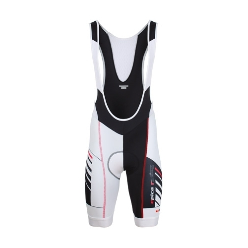 Bicycle Line Epica Bib Short Black Red