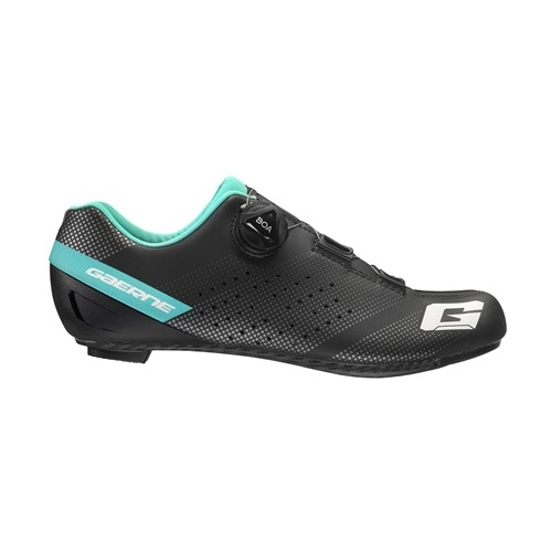 GAERNE CARBON G.TORNADO LADY BLACK LIGHT BLUE Πoδηλατικά παπούτσια δρόμου Δαλαβίκας bikes