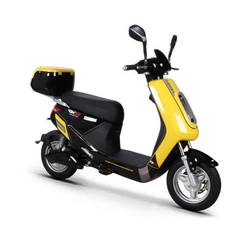 R8 YELLOW 250W RKS - Ηλεκτρικό scooter Δαλαβίκας bikes