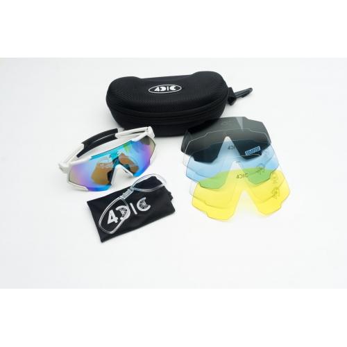 4CIC L4C White Αθλητικά, ποδηλατικά γυαλιά ηλίου Δαλαβίκας bikes