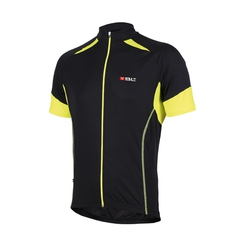 Short Sleeved Jersey Vision Black Δαλαβίκας bikes