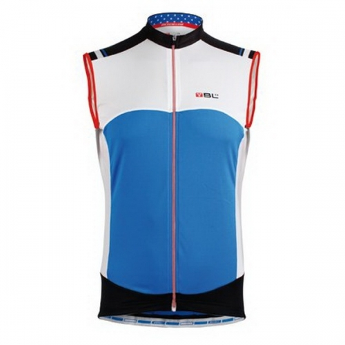 Bicycle Line California Sleeveless Jersey Blue