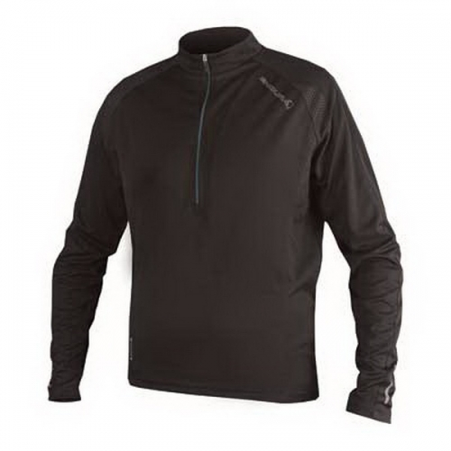 Endura Xtract LS Jersey Man Black Δαλαβίκας bikes