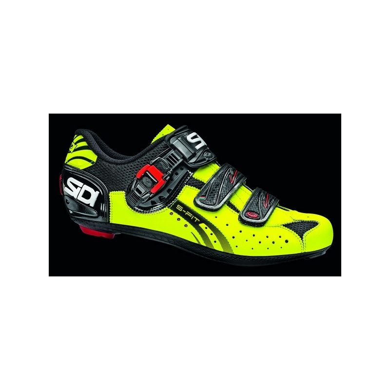 Sidi Genius 5 Fit Carbon Yellow