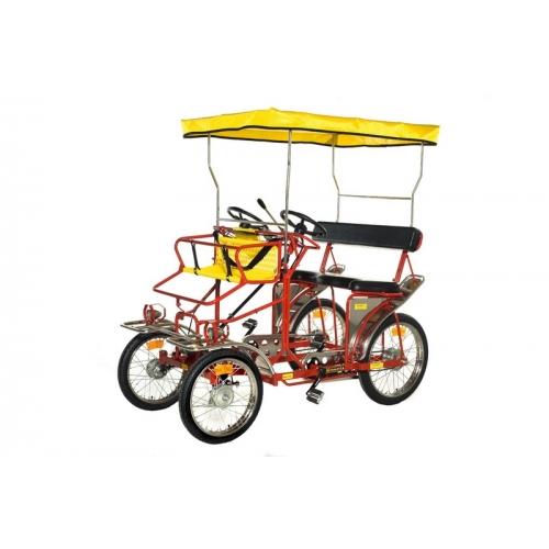 Ποδήλατο τετράτροχο Sirenetta 2 θέσεων