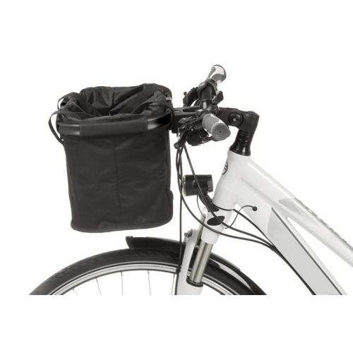 Καλάθι ποδηλάτου MWave Black