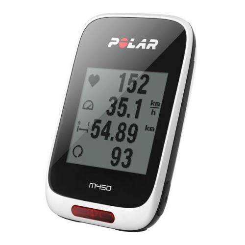 Polar M450 HR κοντέρ ποδηλάτου, παλμογράφος, GPS